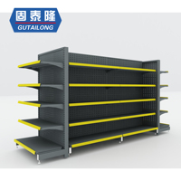 Supermarket+Shelves store shop shelving racks