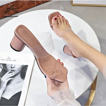 RTS 2020 <span class=keywords><strong>d</strong></span>'<span class=keywords><strong>été</strong></span> Mode femme Clip Orteil Glissière transparente <span class=keywords><strong>talons</strong></span> hauts <span class=keywords><strong>sandales</strong></span> pour <span class=keywords><strong>femmes</strong></span> dames