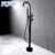 JOYEE Hot selling bathtub faucet 3 hole deck mount antigue brass floor stand shower in stock