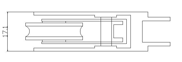 KEYI Hardware W-600 Aluminum Sliding Glass Window Roller,Window Wheel