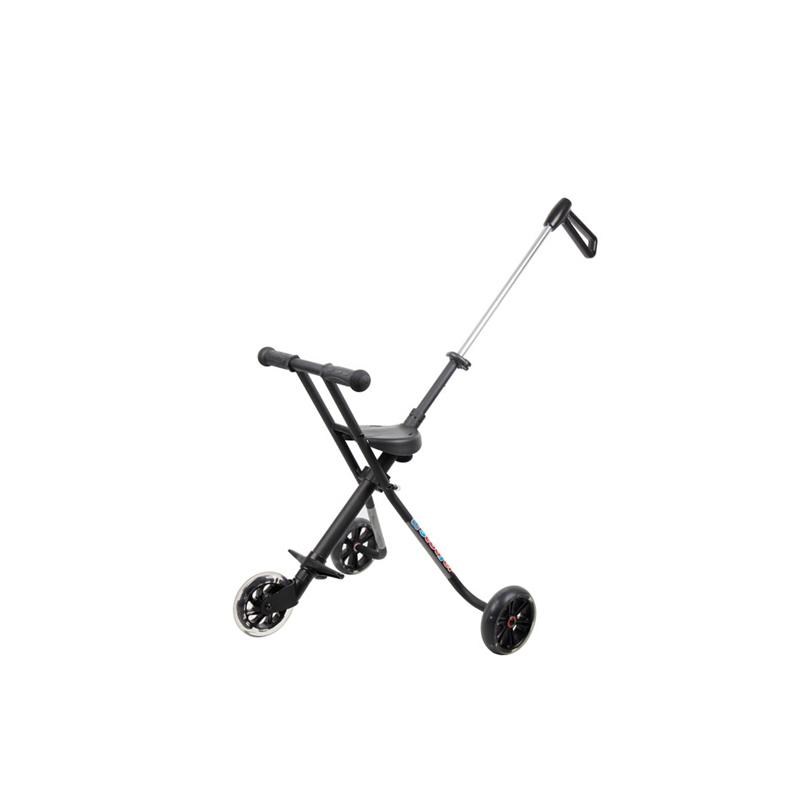 CE Aluminum alloy PU stroller wheel umbrella baby walker scooter kids tricycle baby stroller