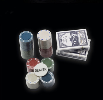 2020 new high quality custom casino poker chips cards table game set for happy