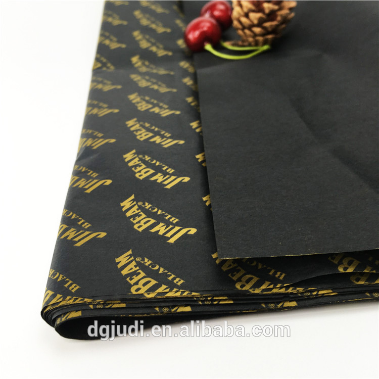 Factory Transparent Silk Custom Wrapping Tissue Paper with logo