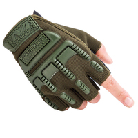 Wear-resistant Shooting Airsoft Hunting Cycling Motorcycle Tactical Half finger Gloves for Men's Outdoor CYCLE HALF FINGER GLOVE