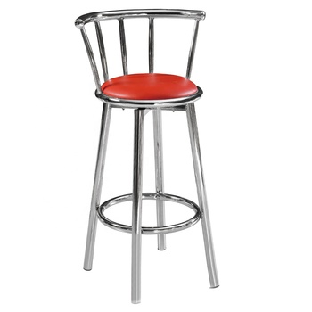Metal Frame Structure Bar Chair