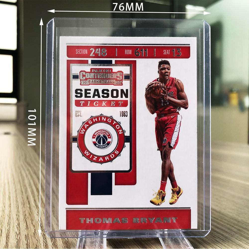 1000counts Top Loader Plastic Card Holder for Baseball Football Basketball Sports Cards, 35PT Toploader 3x4