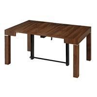 space saving modern transforming table furniture extendable dining table console table