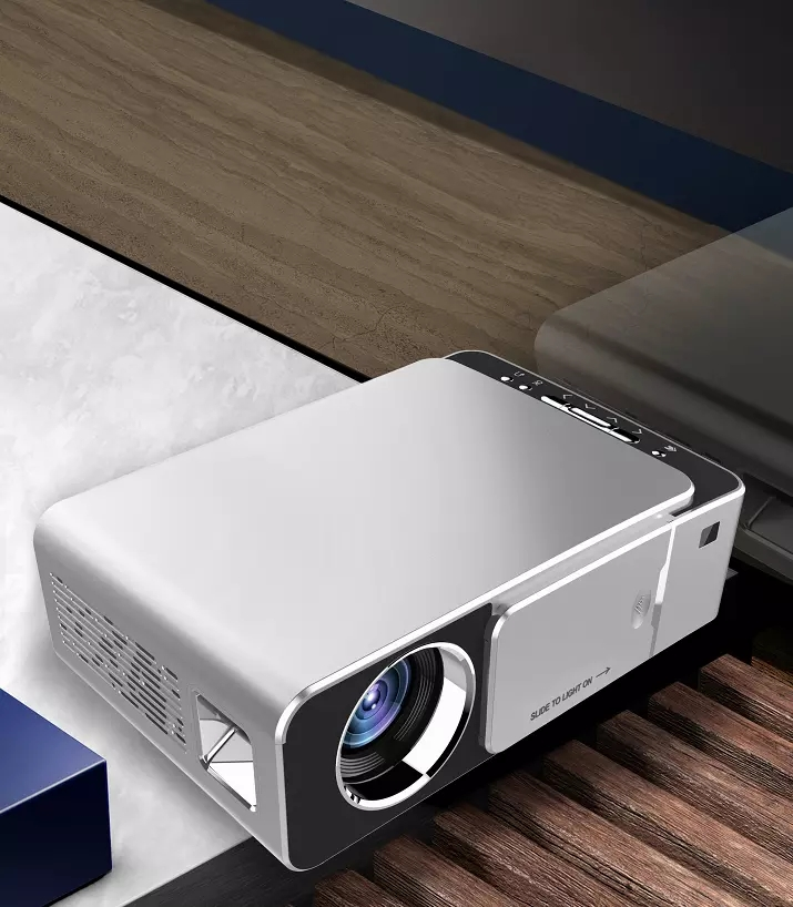 2020 Hot Selling Toprecis T6 cell phone projector Multimedia share mirror screen projector 720P