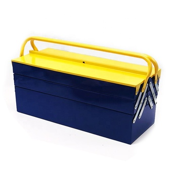 5 bucket metal tool srorage box with tool