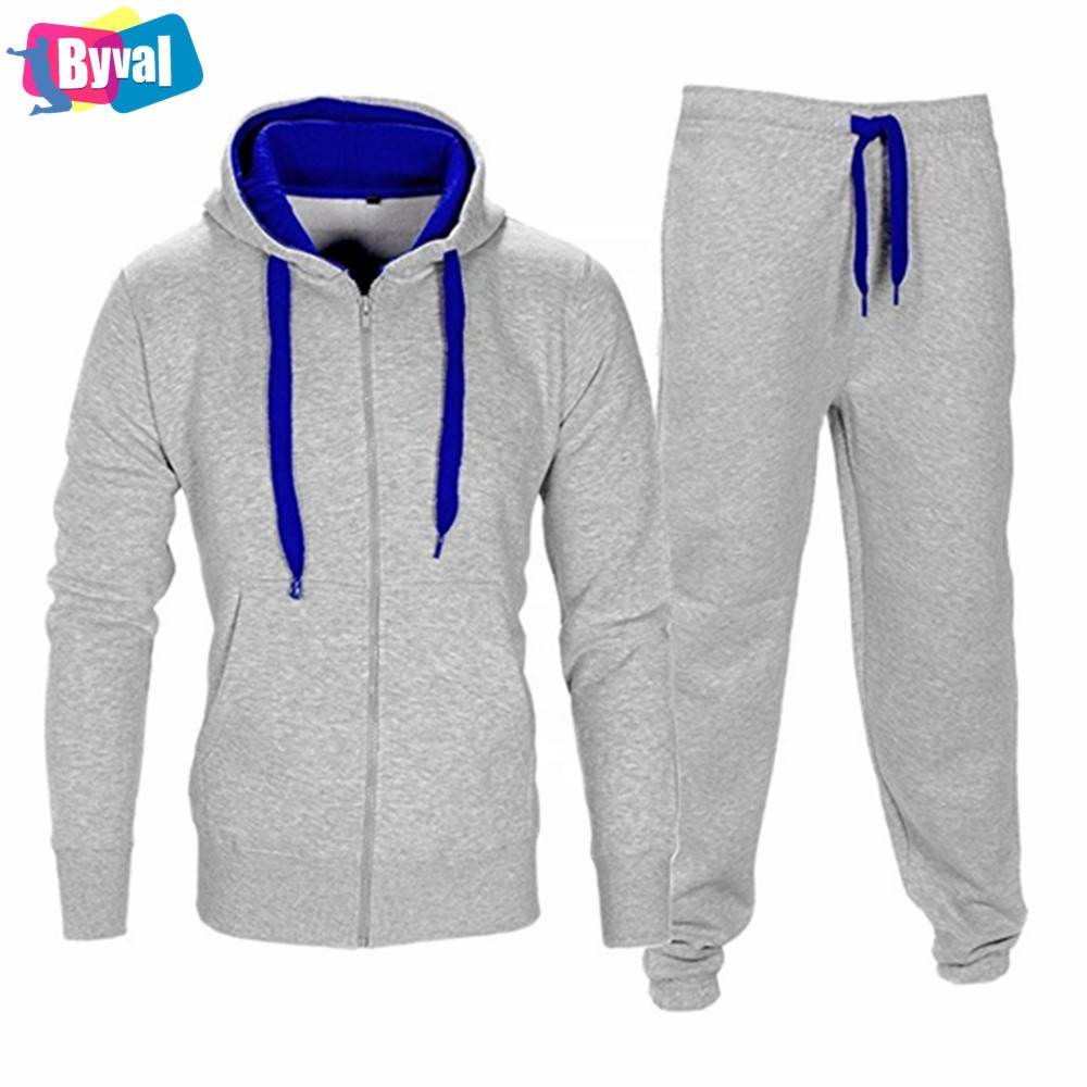 OEM Cotton Polyester Tracksuits Sets Autumn Fleece Tracksuit Suits Wholesale Running Lounge Wear Cheap Clothing