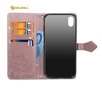 Manufacturer Amazon products new phone shell female style wallet style For iPhone Xr