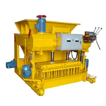 QMY6-25 mobile hydraulic concrete hollow block paver brick making machine