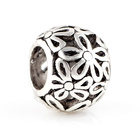 DIY alloy Flower charm wholesale charms metal european beads for jewelry making