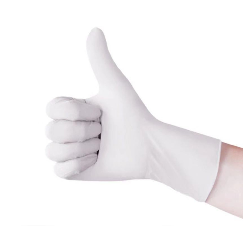 Disposable Wear-Resistant Extra-thick Butadiene Rubber Female Gloves