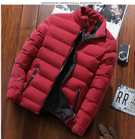 Amazon Quality New Mens Down Jacket Stand Collar Winter Warm Jacket