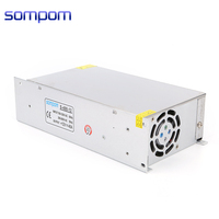OEM factory 110v/220v ac to dc single output smps 12v 40a 500w 480ww industrial power supply
