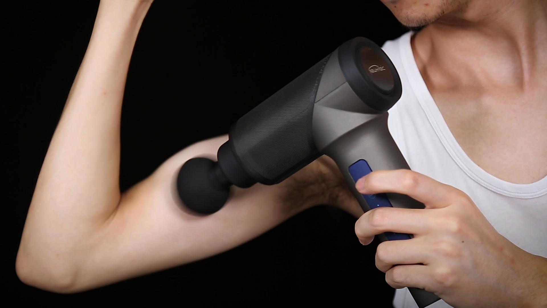 Cuerpo masajeador máquina de tejido profundo masaje arma