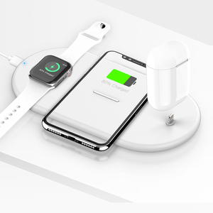wireless charging board new product 2020 for iphone 6/7/8 plus for apple/ mobile phones charger 3 in 1
