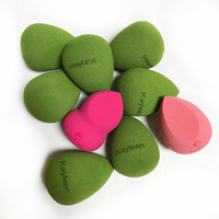 Free Cost Custom Logo Cosmetic Makeup Sponge Blending Beauty Sponge Blender Makeup Tools
