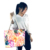 Pockets Zipper Eco Friendly For Kids Natural OEM Woven Beautiful Big Beach Bag With Rope Handle