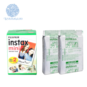 White Edge Fujifilm Instax Film for Fuji Instant Camera 20 Sheets Mini Liplay Film Mini 7 / 8 / 9 / 70 / 90