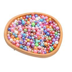 acrylic ABS imitation pearl AB color ball beads be