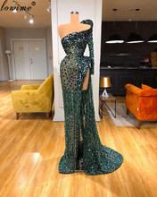Новое поступление, элегантные платья знаменитостей ручной работы, 2020, иллюзия, бисероплетение, вечерние платья для женщин, вечерние платья ...(Китай)