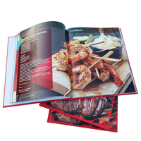 Custom Red Cover Hardcover Catalogue Book Printing With Best Price