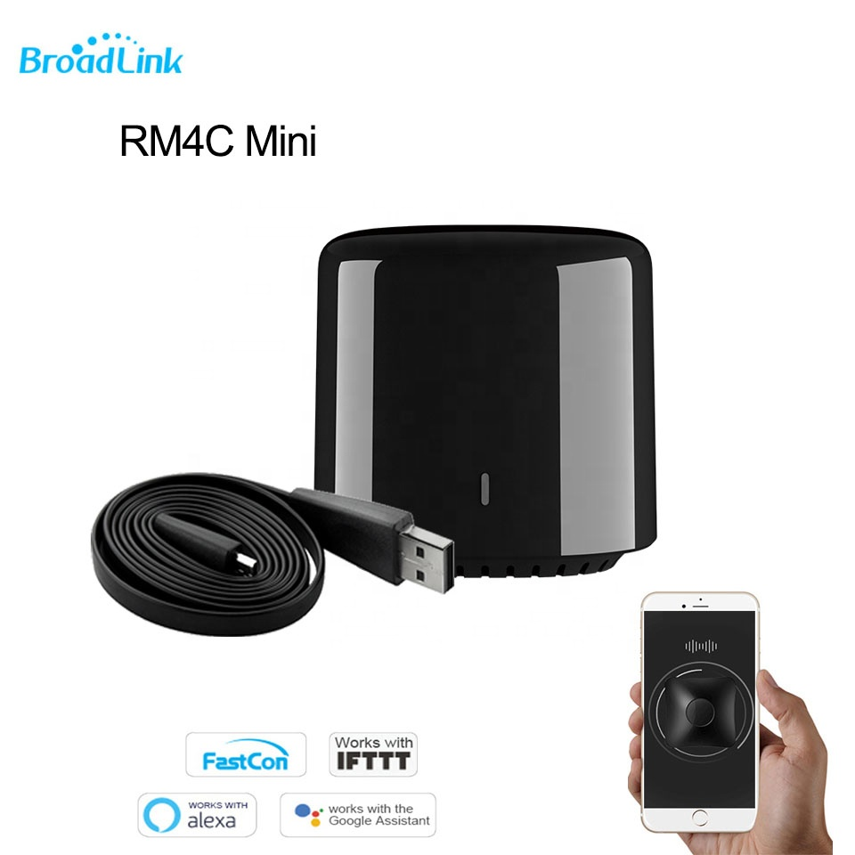 Control remoto RM BroadLink Mini 4 Smart WiFi IR portátil TV control remoto Universal de casa inteligente wifi control remoto