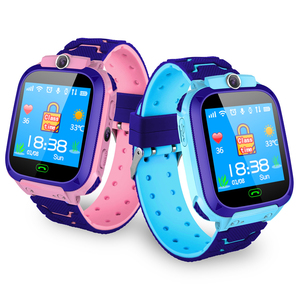 Ready to ship oem logo S9 1 44inch waterproof kid children lbs sos smart  watch