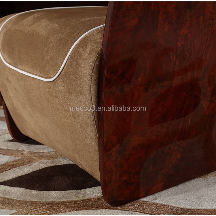 Modern Single Sofa Italian Light Luxury Lounge Chair High-end Club Sofa