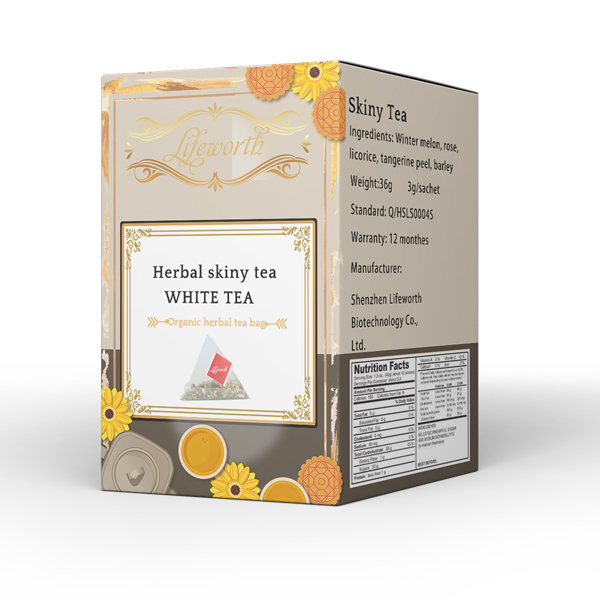 Lifeworth organic dandelion herb skinny fit white tea - 4uTea | 4uTea.com