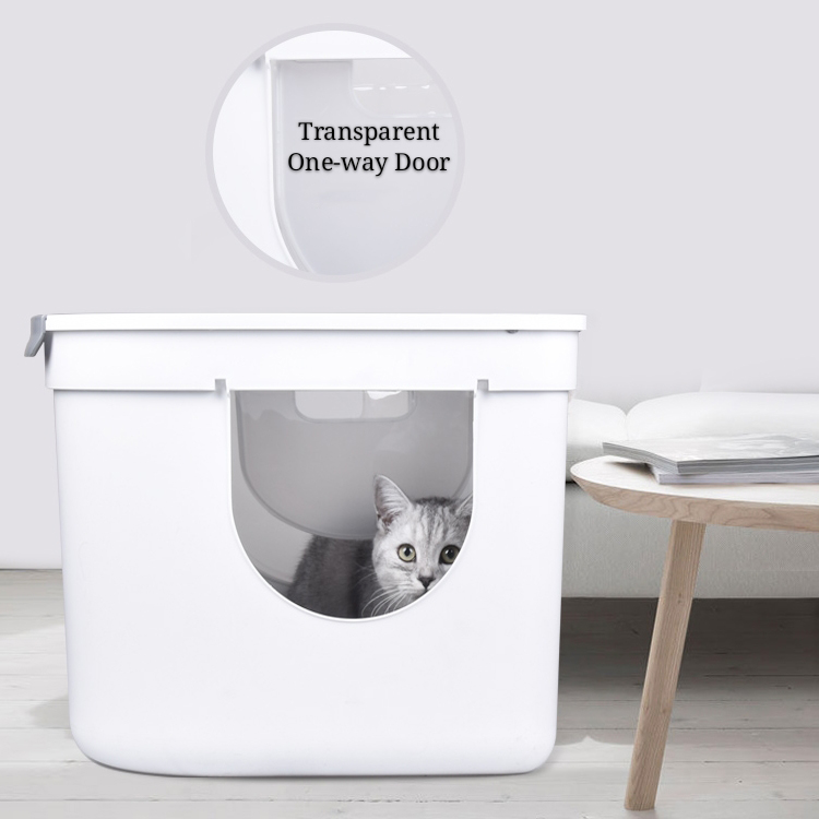 प्लस मिग्नॉन fournisseur डी 'animaux डे compagnie शीर्ष automatique चैट poubelle autonettoyant litiere एक चैट