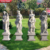 Classical Garden Large  White Marble Four Season Statue