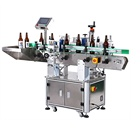 Life Wine Bottle Labeling Machine Cheap Long Operation Life Rice Wine Bottle Front Back Labeling Machine