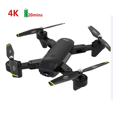 Optical Flow Posisi 2.4GHz Wifi FPV Real Time Transmisi Selfie RC Helicopter Drone dengan Kamera 4K