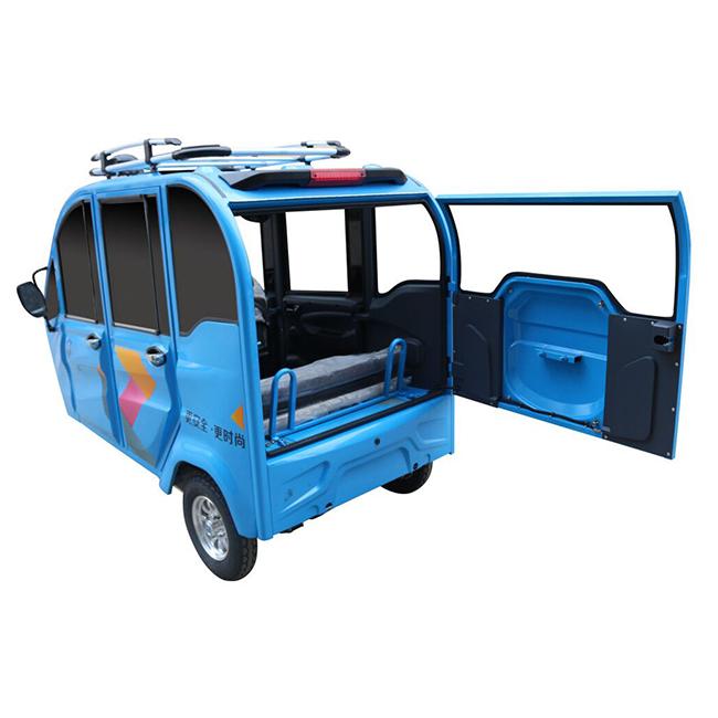 150cc 60km/h closed tuk tuk 3 seats petrol type auto rickshaw