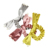 Factory Direct Sale Hot Style Velvet Hair Bow Scrunchies Pearl Elastic Hair Bands With Bow For Lady Hair Accessories