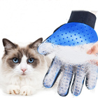 Pet dog cat glove 259 Tips amazon top selling 2020 Pet Hair Remover Clean Glove Gentle Mitt Gloves cat grooming glove