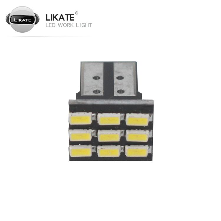 lkt Cheap On-Polarity Error Free 12v light bulb LED car door with T10 / W5W / 501 Wedge 9SMD