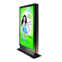 Outdoor Double Side Scrolling Advertising Mupi Led Light box
