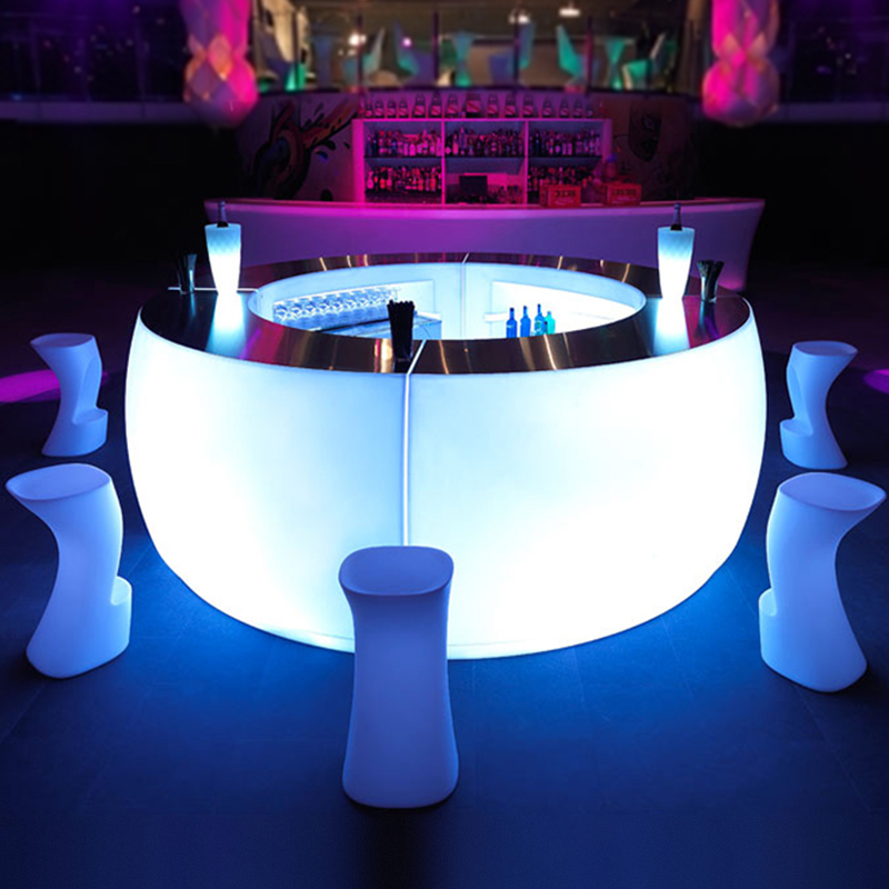 2020 New product cheap portable <strong>bars</strong> beach <strong>bar</strong> portable Waterproof IP67 Modern outdoor portable LED furniture <strong>bar</strong>