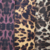 colorful leopard print leather for bag making