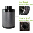 10' refillable odor removal control active carbon coal air filter for air ventilation