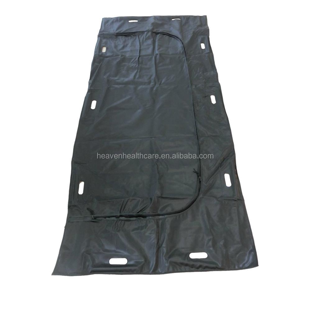 PEVA Disposable Body Bag with handles Cadaver Bag with Zipper