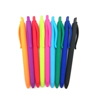 STASUN hot sale multicolor Rubber Coated promotional retractable Ball Point Pen