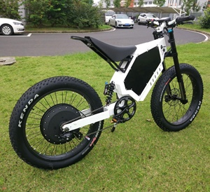 High powerful 12000W Ebike 100KM/H long Range Off-road electric bicycle  Fast Adult Stealth Bomber Electric Bike