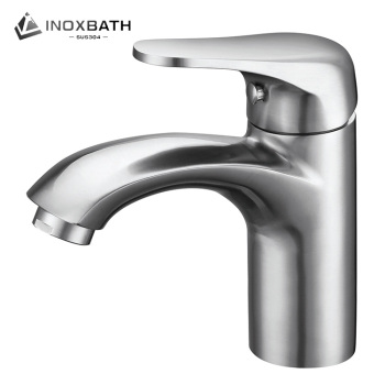 Faucet for bathroom basin casting stainless steel 304