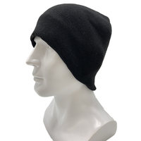 Deliwear classic beanie winter toque with FR properties Double-layered custom knitted toque with folding brim for added warmth