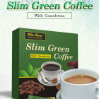 Natural Coffee Green Slimming Green Coffee Wholesale Natural Herbal Ganoderma Extract Healthy Coffee Wins Town Instant Slim Green Coffee